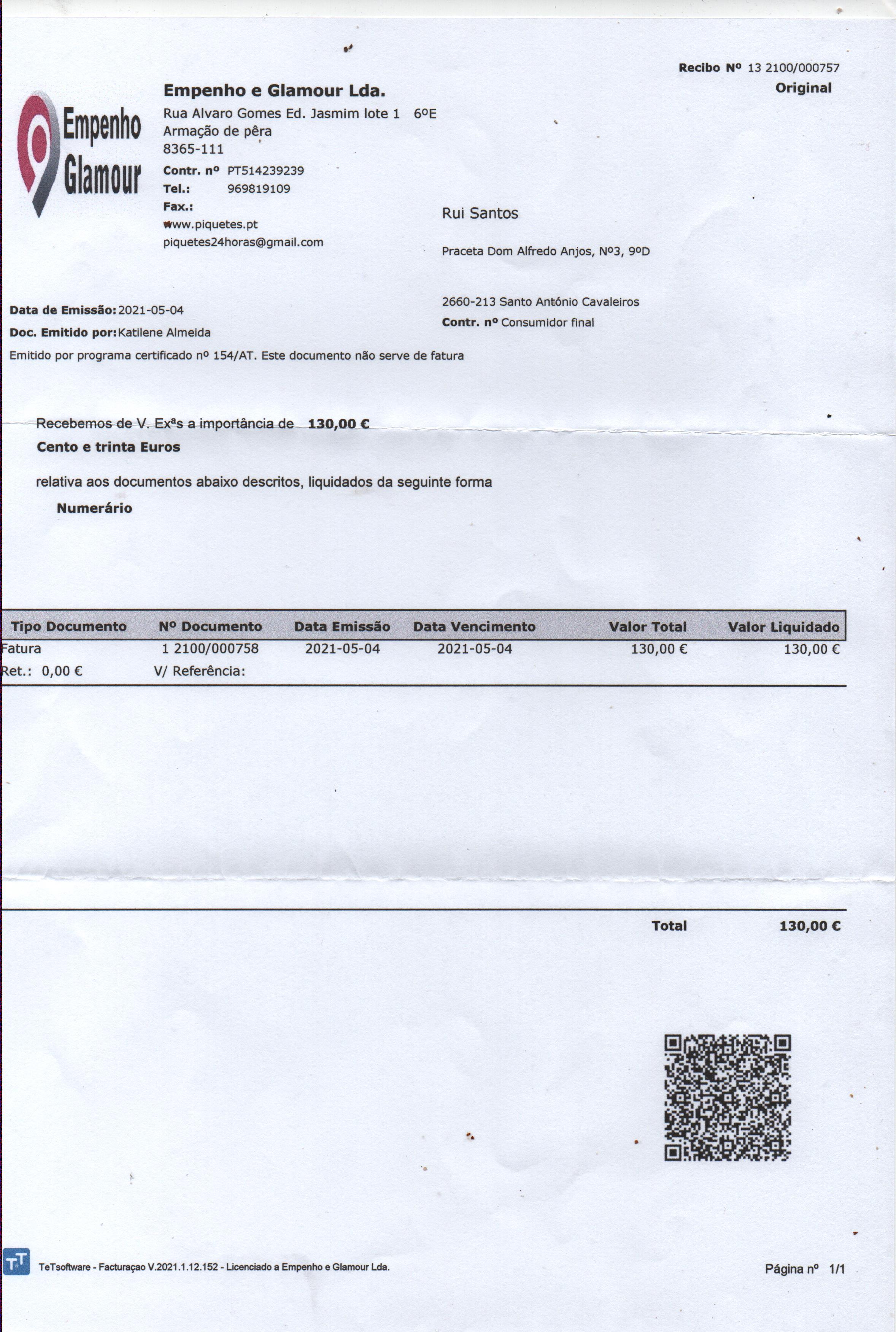 Piquetes.pt - Reembolso