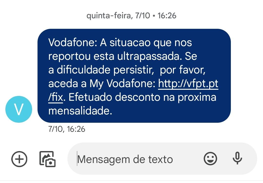 Vodafone - Custo astronómico do n.º de apoio ao cliente (16913)