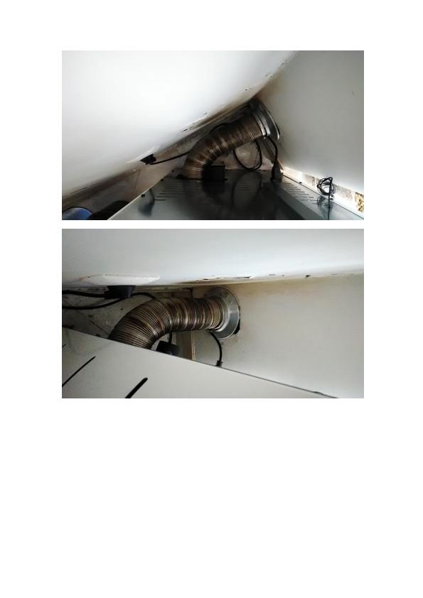 Solzaima - Correcção de instalação de sistema de exaustão de fumos de chaminé de salamandra a péletes