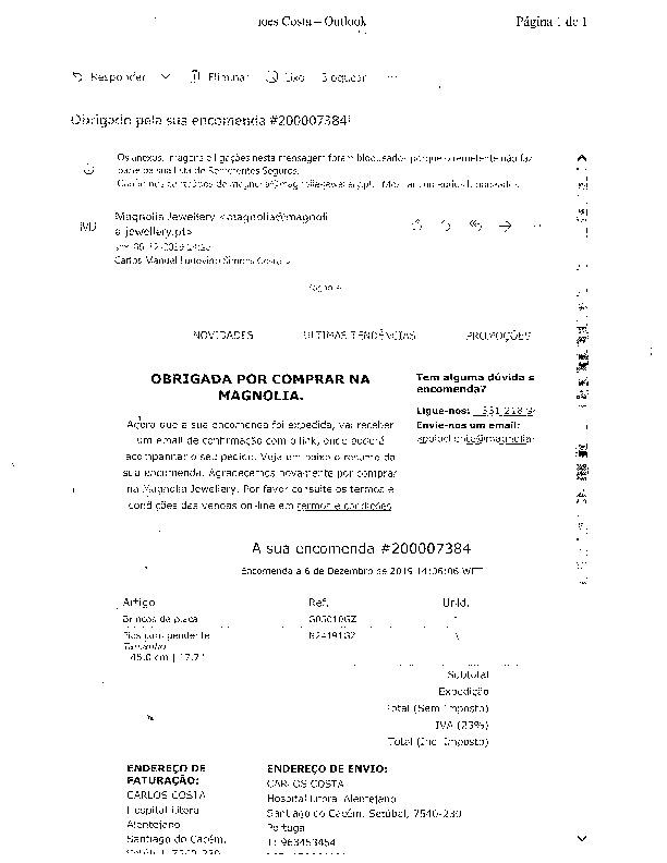 Magnolia Silver Jewellery - É uma fraude
