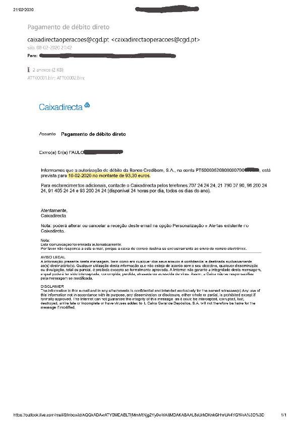 Banco Credibom - Juros e taxas abusivas